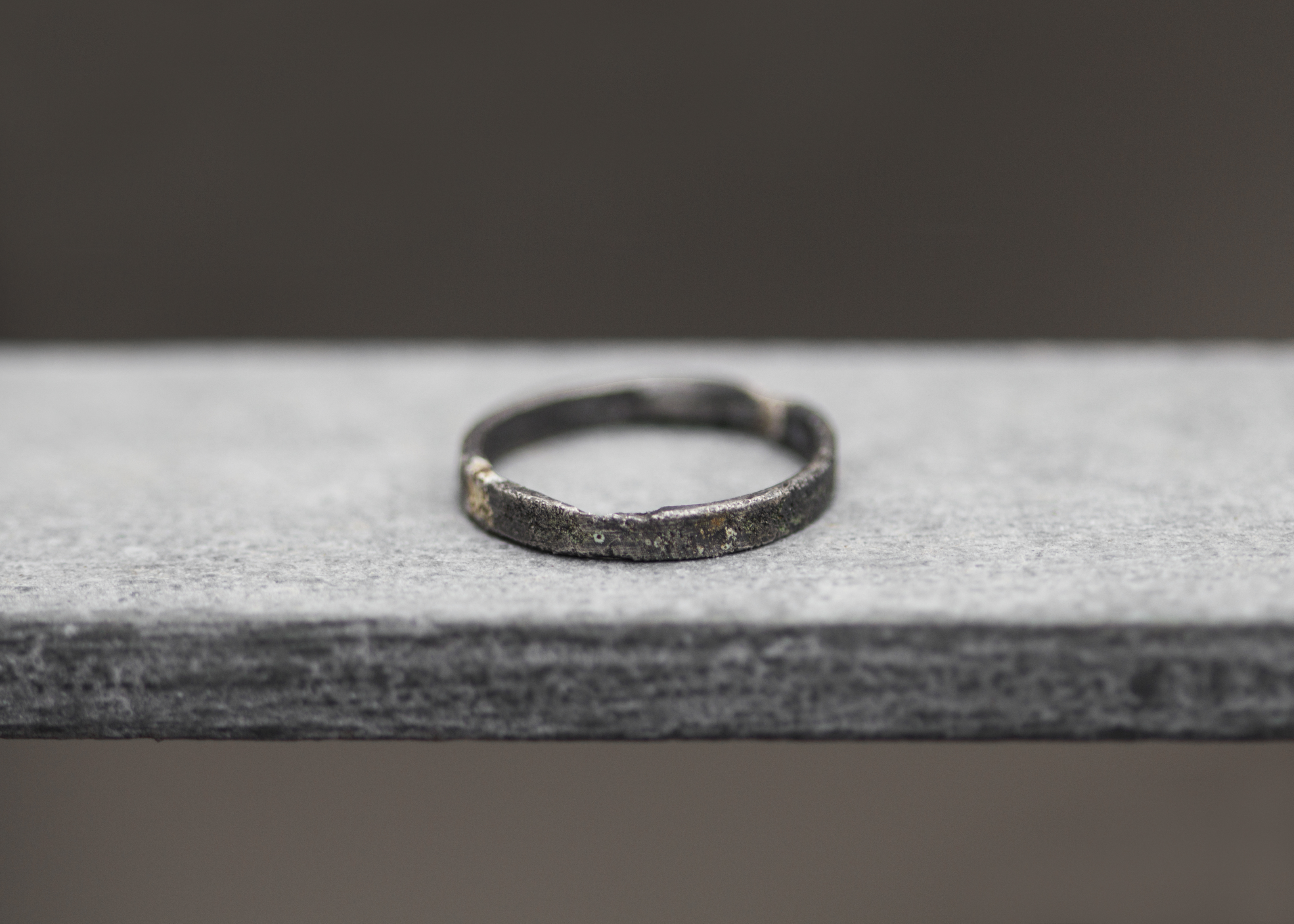 "Ring ""Raw"" - Silber"