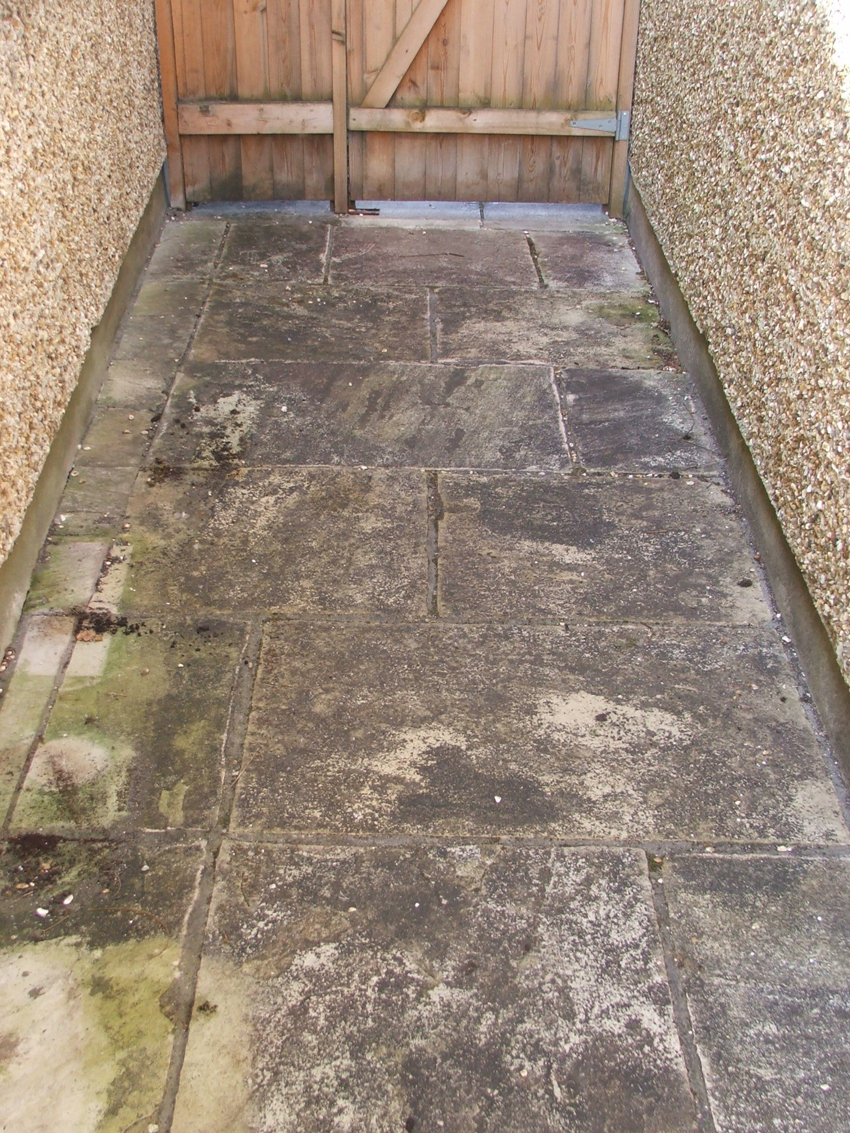 Indian sandstone power washing