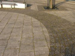 dirty commercial paving