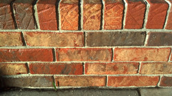 cleaned bricks