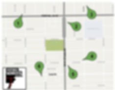 Monrovia Walking Tour Map