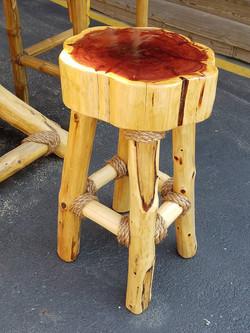 cedar stool