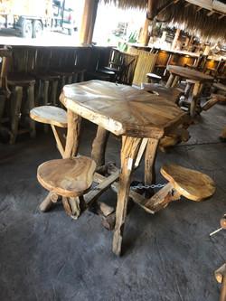 Teak outdoor/indoor table