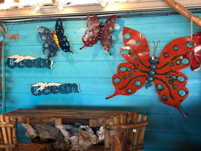 Metal Butterflies