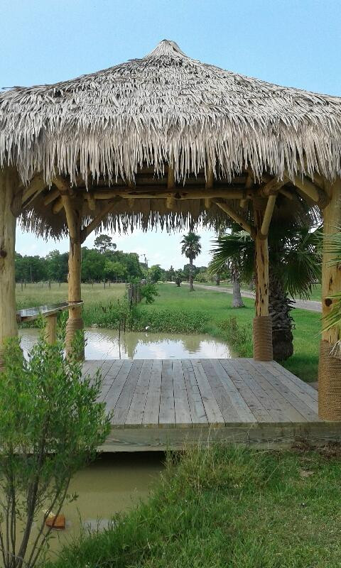 Palapa By the Pond