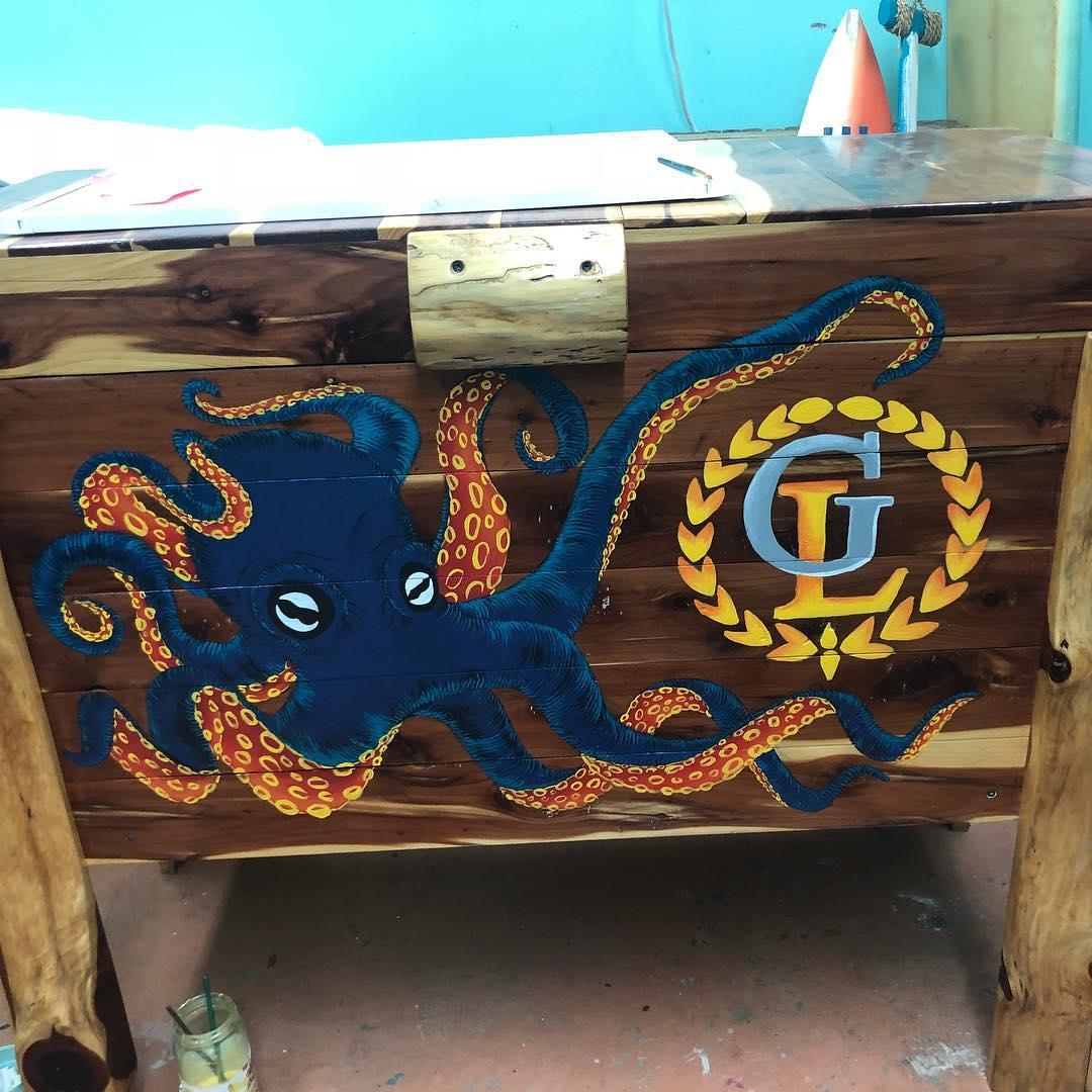 Octopus Cooler