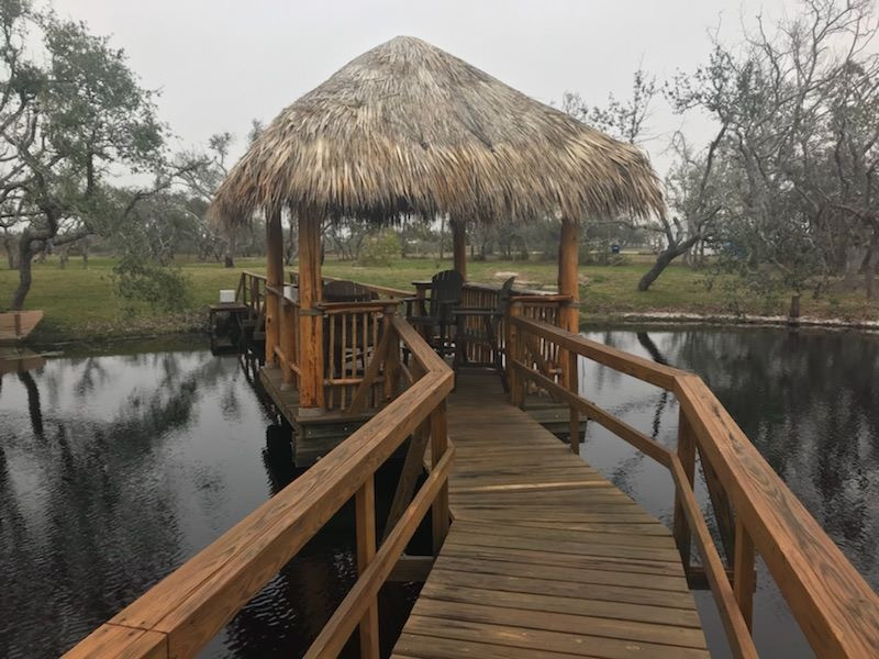 Dock and deck Palapa