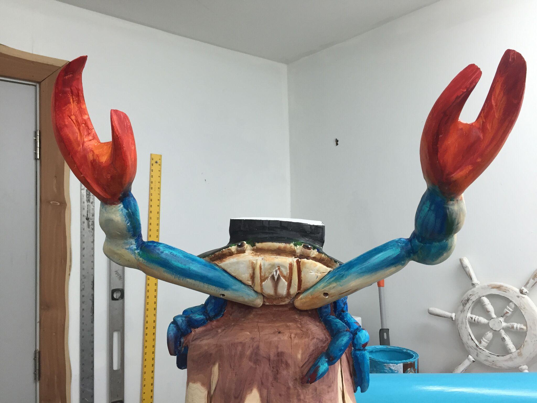 Crab Mailbox