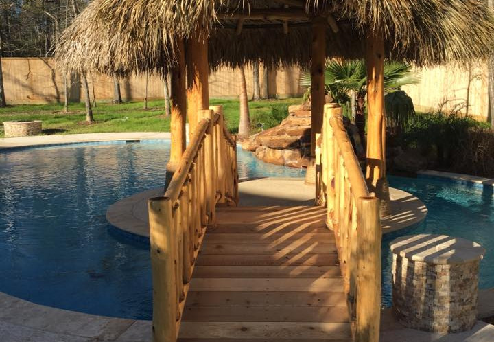 Palapa in the pool