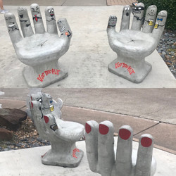 Voo Doo Hut's Hand puppets