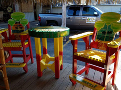 Margarita Bar Chairs with Table