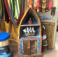 Costa Rican Canoe Shelf