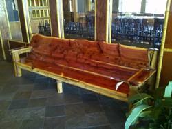 Large Cedar Bench