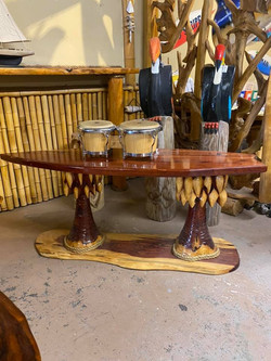 coffee table height surboard table