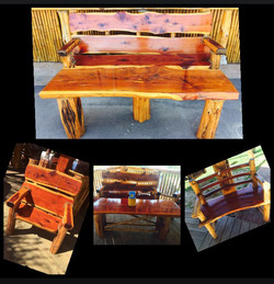 Medium Cedar Bench