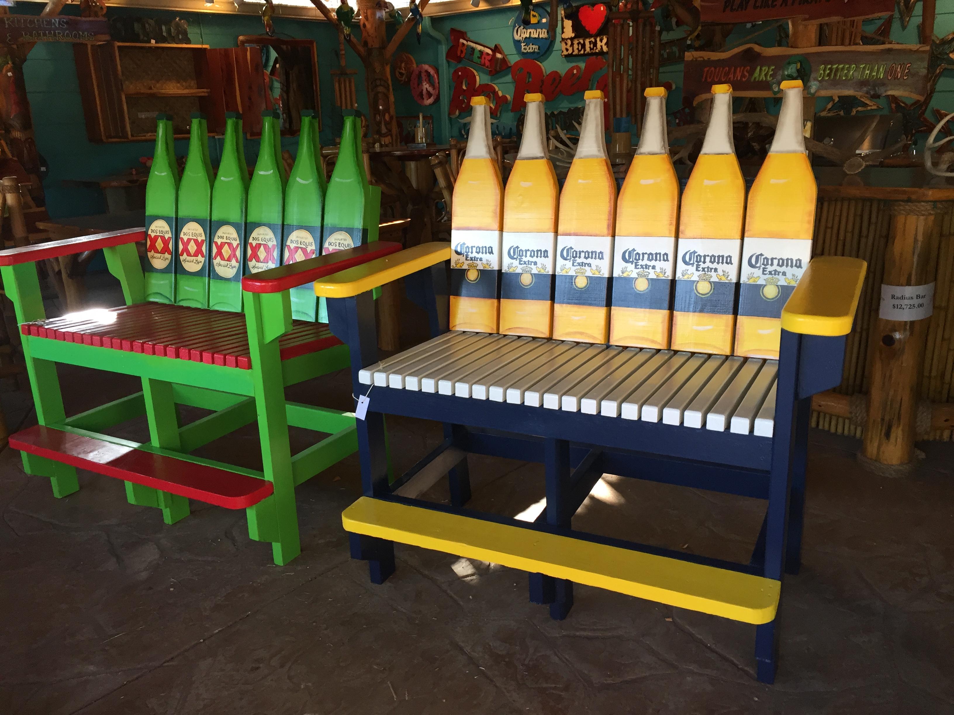 CoronaDosXX bench