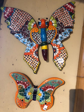 Ceramic Butterflies from Mexico starting at $30