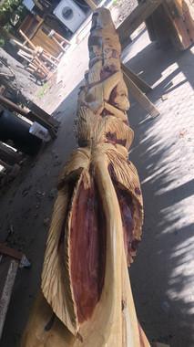 Custom Palapa Poles