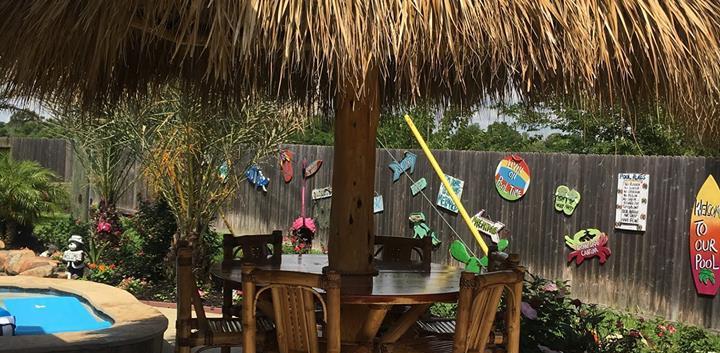 umbrella palapa