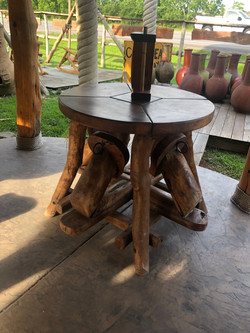 Teak Fold out table