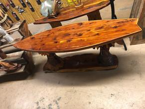 Cedar Surf Tables