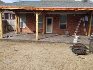 Patio Cover to match Roof
