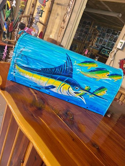 swordfish custom painted