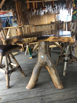 Guanacoste w/Bamboo Swivel Chairs