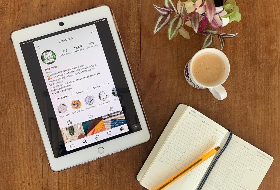 Optimisation compte Instagram pour créateurs