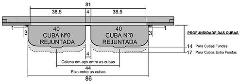 Frente Cuba Dupla Rej Nº0