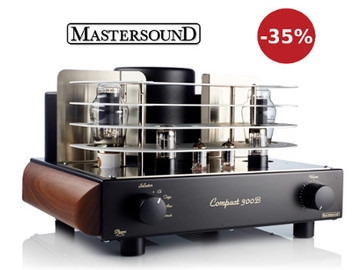 Скидка 35% на ламповые усилители Mastersound (Италия)