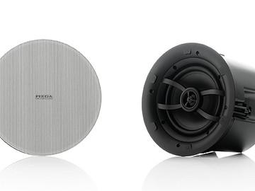 Новая серия акустических систем PIEGA для скрытой установки в потолок или стены помещения