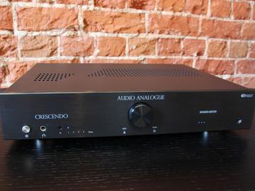 Интегральный усилитель Audio Analogue Crescendo в нашем салоне