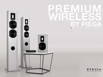 Новые акустические системы Piega Premium Wireless