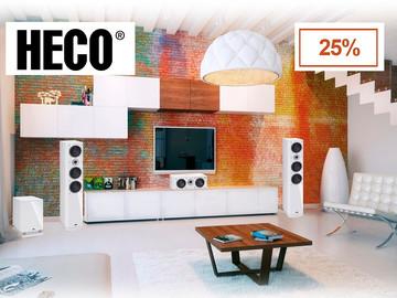 Скидка 25% на линейку Music Style от компании HECO