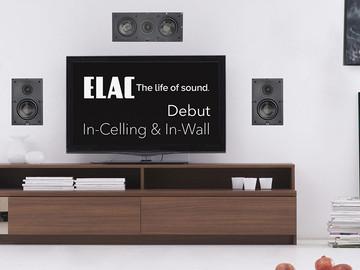 ELAC выпускает встраиваемую акустику серии Debut