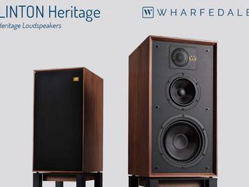 WHARFEDALE представила акустику серии Linton Heritage