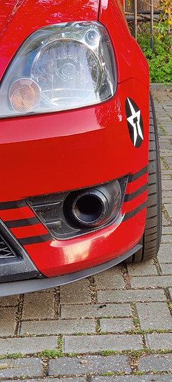 MK6 Fiesta Fog Light Delete Duct (PAIR)