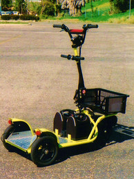 Land Glider for the San Diego Automotive Museum