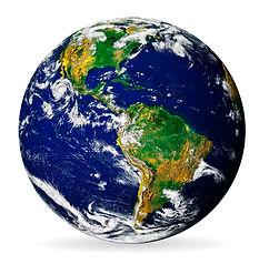 earth-globe-isolated-on-white-background