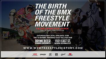 The Birth of the BMX Freestyle Movemen
