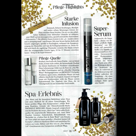 12/2018 Beauty Talk Premium Bericht