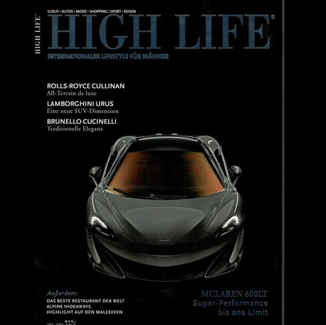 12/2018 HIGH LIFE Cover