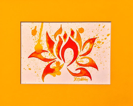 """Flaming Lotus"""