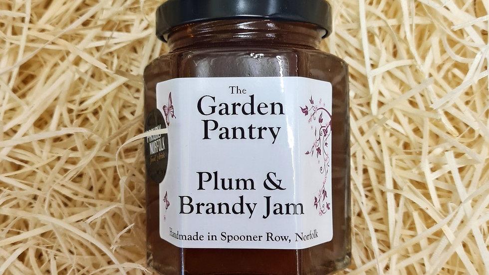 The Garden Pantry Plum and Brandy Jam