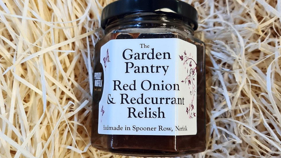 The Garden Pantry Red Onion and Redcurrant Relish