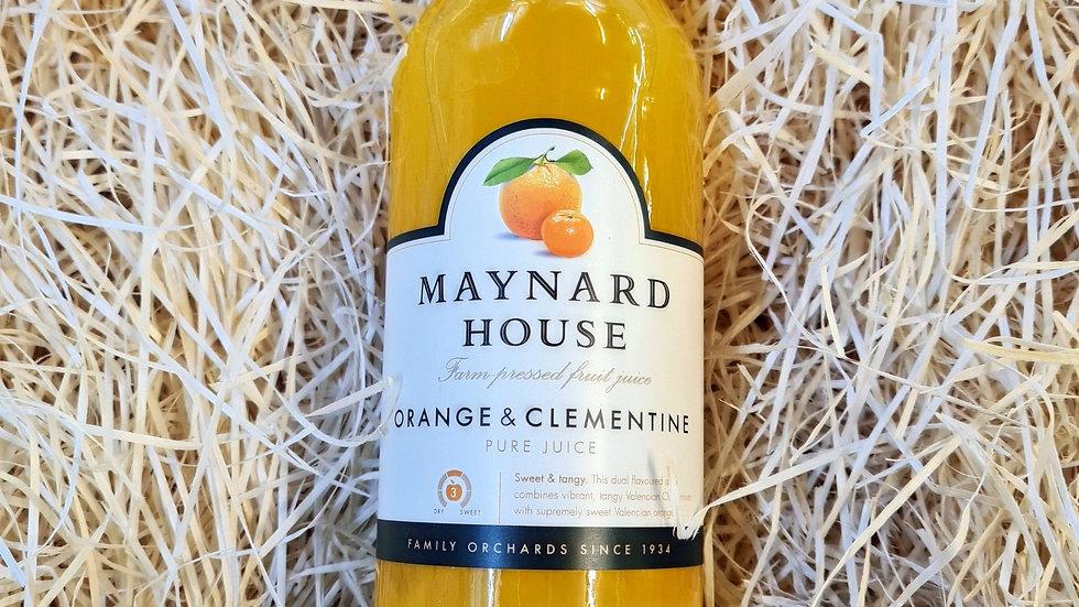Maynard House Orange and Clementine Juice