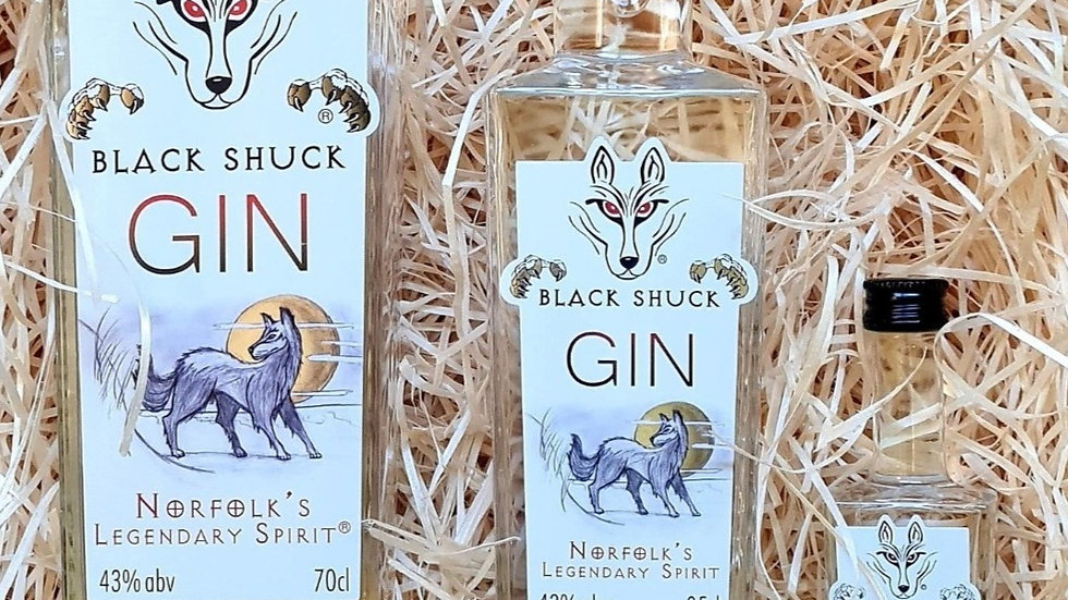Black Shuck White Label Gin
