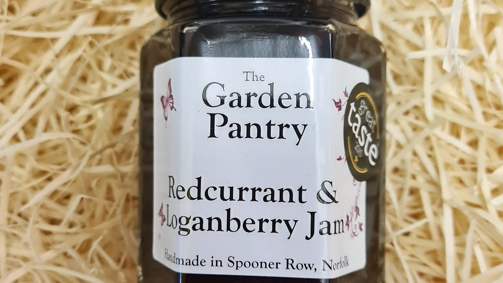 The Garden Pantry Redcurrant and Loganberry Jam