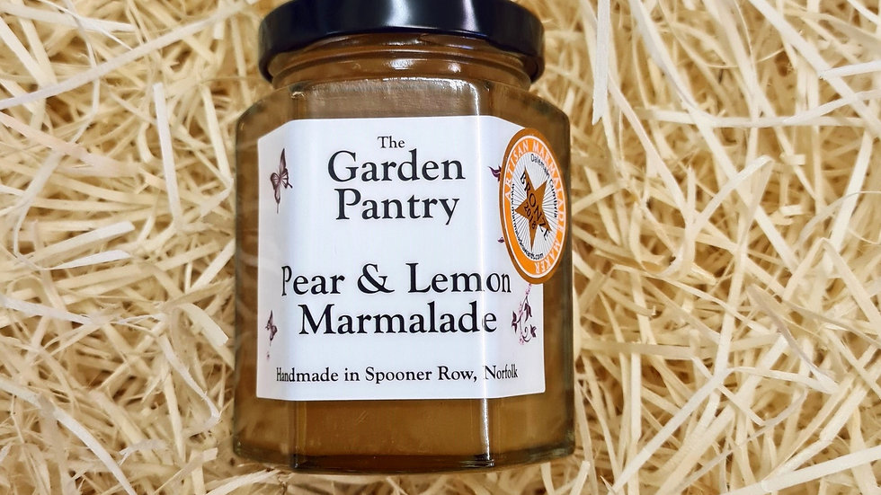 The Garden Pantry Pear and Lemon Marmalade